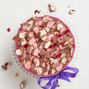 Michel's Rocky Road Surprise Cake