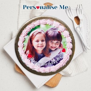 Michel's Personalised Chocolate Sponge Cake