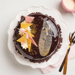 Michel's Golden Smudge Torte