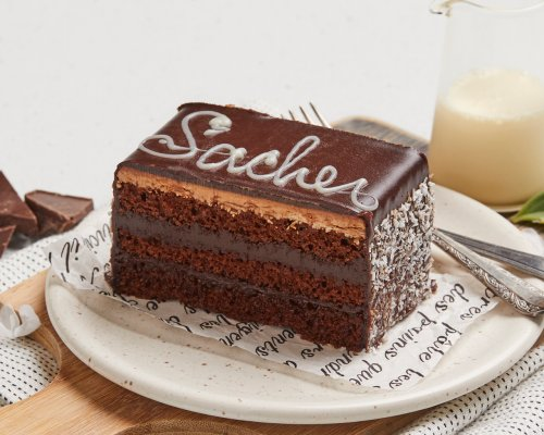 Sacher Slice Chocolate Cake