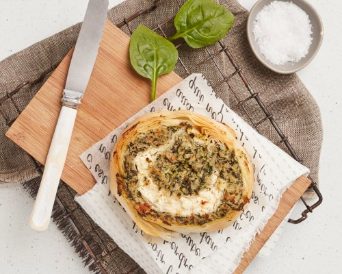Spinach & Feta Roulade