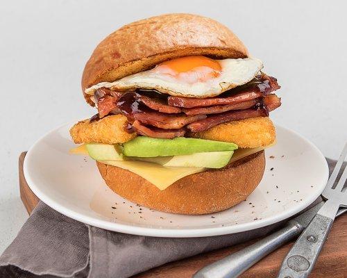 Le Grande Breakfast Bun