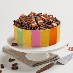 Michel's Caramel Fete Surprise Cake