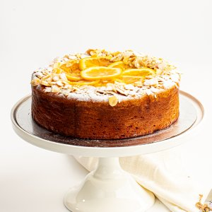 Michel's Flourless Orange Almond Cake