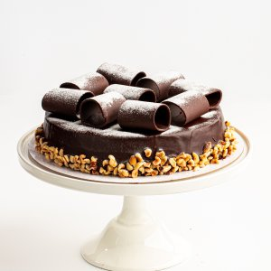 Michel's Flourless Chocolate Hazelnut Cake