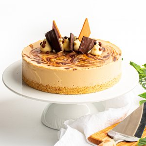 Michel's Salted Caramel Cheesecake
